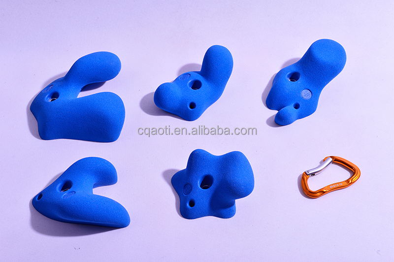 Consistent quality cheap rock climbing holds for world market