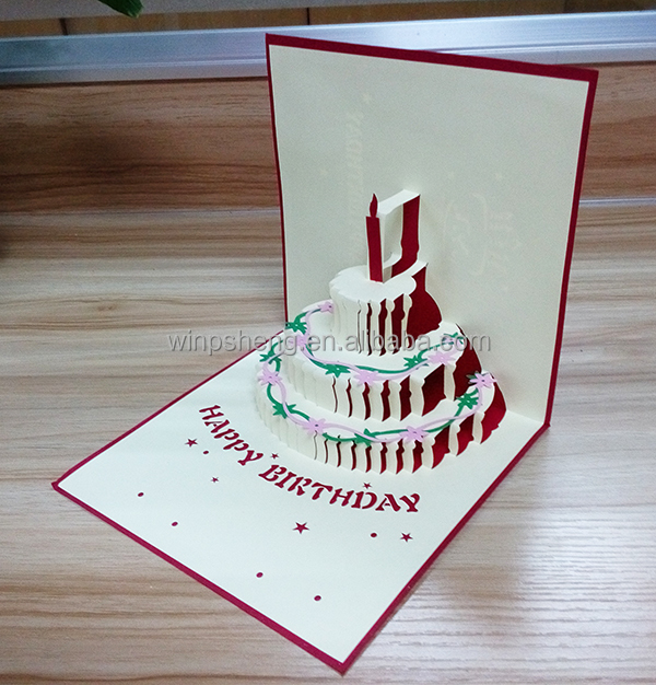 Handmade 3d Birthday Cardfree Animated Birthday Card Custom Buy