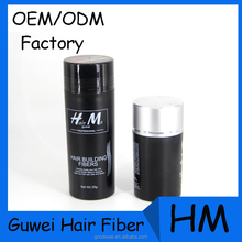 Multi Colors Hair Building Fiber Thin Hair Product For Hair Restoration