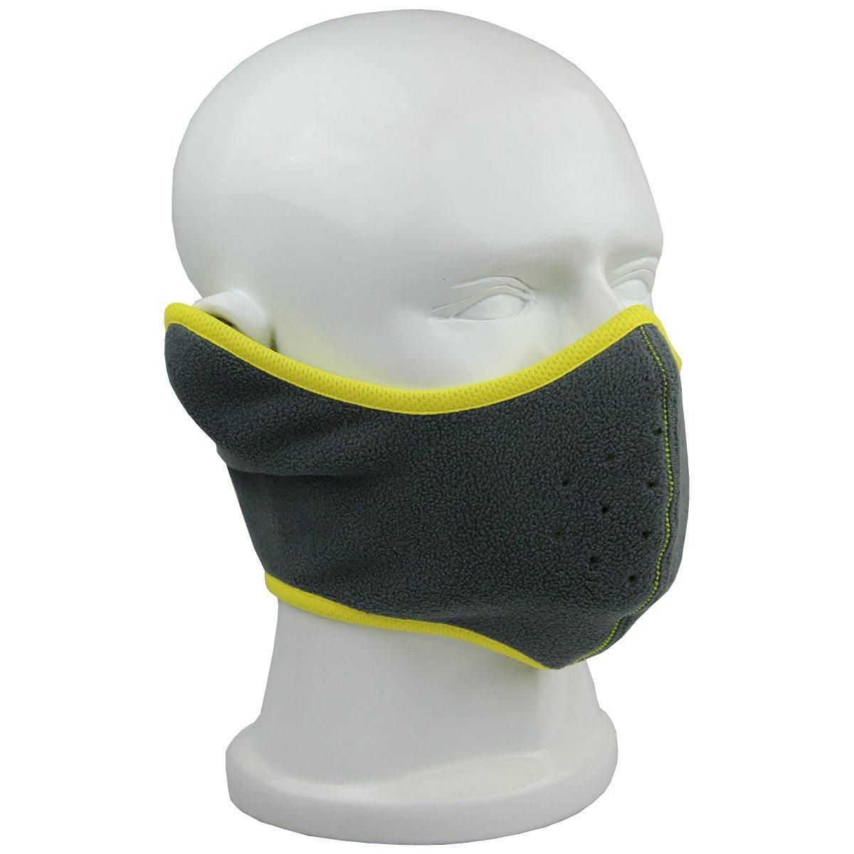 Reversible Fleece Ear Nose Warmer Half Face Mask Facemask Facial Mask