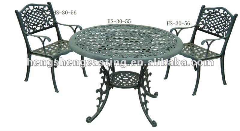 Antique Cast Iron Garden Furniture/ Table And Chair, View Cast .