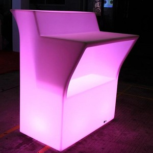 Cordless LED Mobile bar furniture for night club,event,wedding