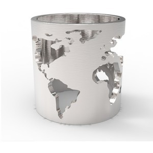 Unique design stainless steel world map ring for fashion jewelry unique design stainless steel world map ring for fashion jewelry gumiabroncs Gallery