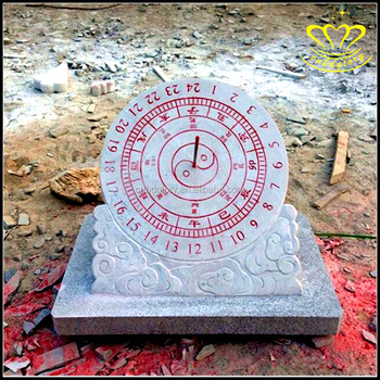 Stone Material And Home Decoration Marble Garden Sundial