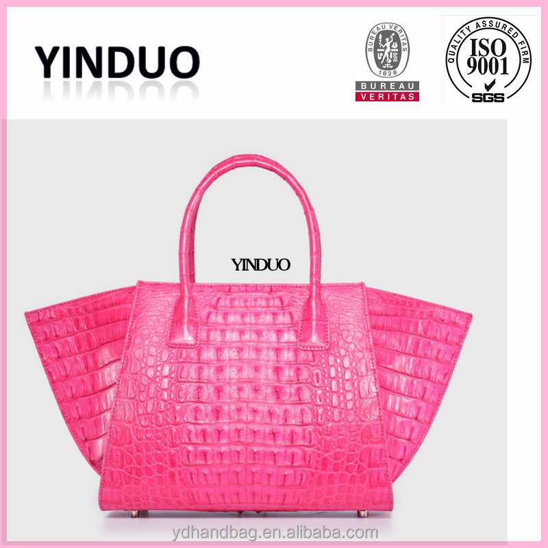 Wholesale Crocodile Tote Leather Handbags From Thailand