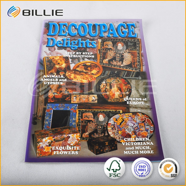 Famous Supplier of BILLIE Glossy Magazine Printing