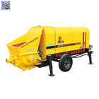 Cement machinery stationary diesel trailer beton portable concrete pump