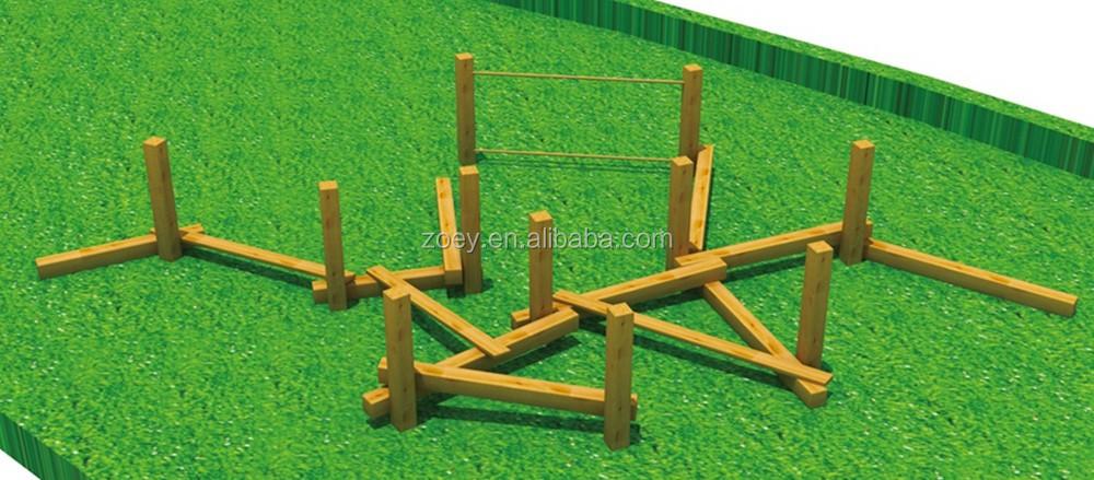 madera juegos infantiles al aire libre estructura puente de madera para los nios juegos infantiles