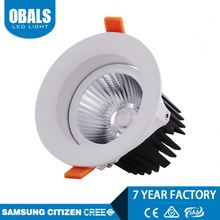 high power cree chip square surface mounted 6w cob led downlight