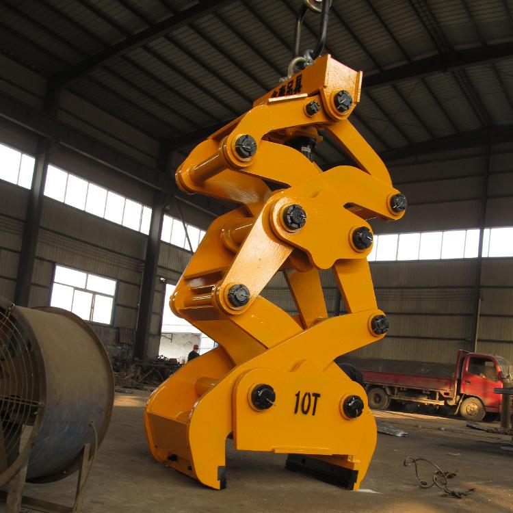 Secure mechanische speciale wijd verticale as laden dubbelzijdig dubbele arm draad tilter rolls lifter coil slab tong