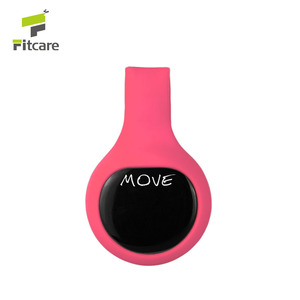 Clip style 3D smart pedometer bluetooth pedometer from China factory OEM/ODM available