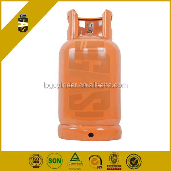 12.5kg 26.5 Liter LPG tank home cooking gas cylinder for sale