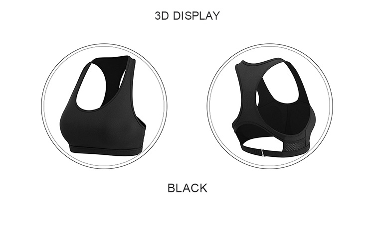 Wholesale high impact sports wear off shoulder yoga bra