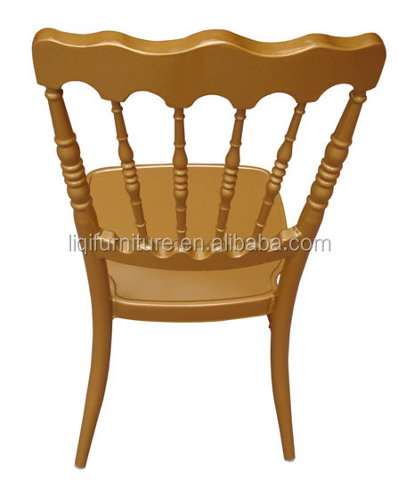 Strong Aluminum Napoleon Chair For Wedding Party Events QL800