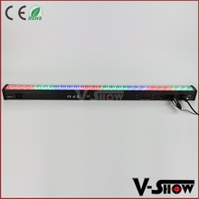 Best price RGB LED stage light wash bar, 252x10mm RGB 3in1 LED stage light LED wall washer for event