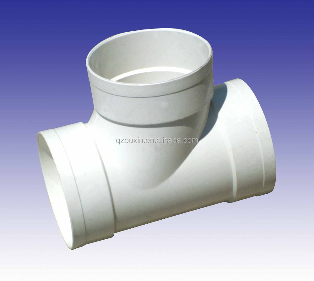 Chinese top grade pvc pipe fittings plastic pet raw for Buy plastic pipe