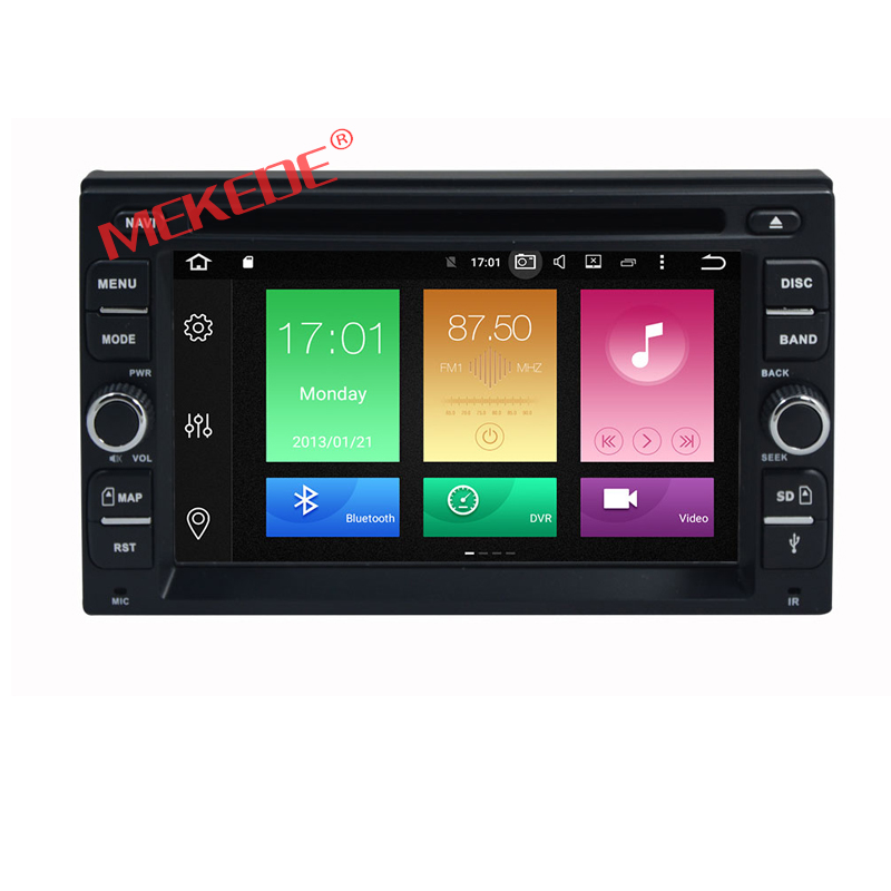 2G RAM 32 ROM Universal 2 din Android 6.0 Car DVD player GPS+Wifi+Bluetooth+Radio+Octa Core+car pc+aduio