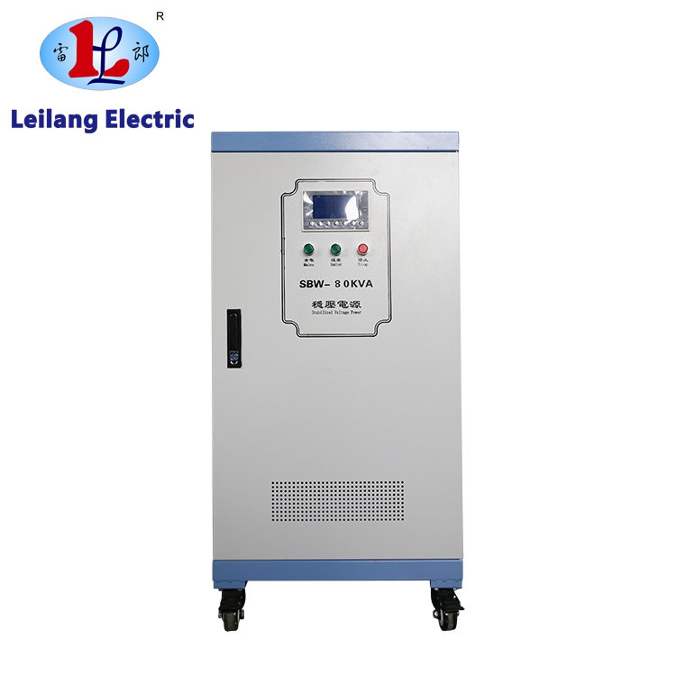 Automatic voltage stabilizer three phase 100kva voltage regulator 450V to 380v for machine tools with CE/ISO9001:2018