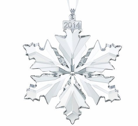 Swarovski Annual Edition 2014 Crystal Snowflake Ornament