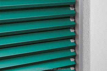 schenker storen 90mm motorized outdoor slat blinds both. Black Bedroom Furniture Sets. Home Design Ideas