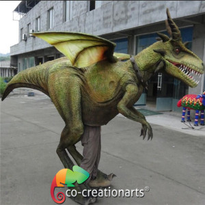 Realistic dragon costume for sale entertainment