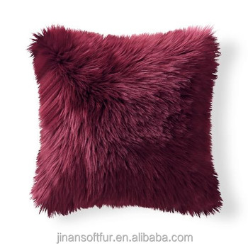 Amazing Long Hair Real Sheepskin Fur Cushions Outdoor Leather Bench Cushions Buy Leather Bench Cushions Leather Couch Cushions Real Sheepskin Fur Cushion Caraccident5 Cool Chair Designs And Ideas Caraccident5Info