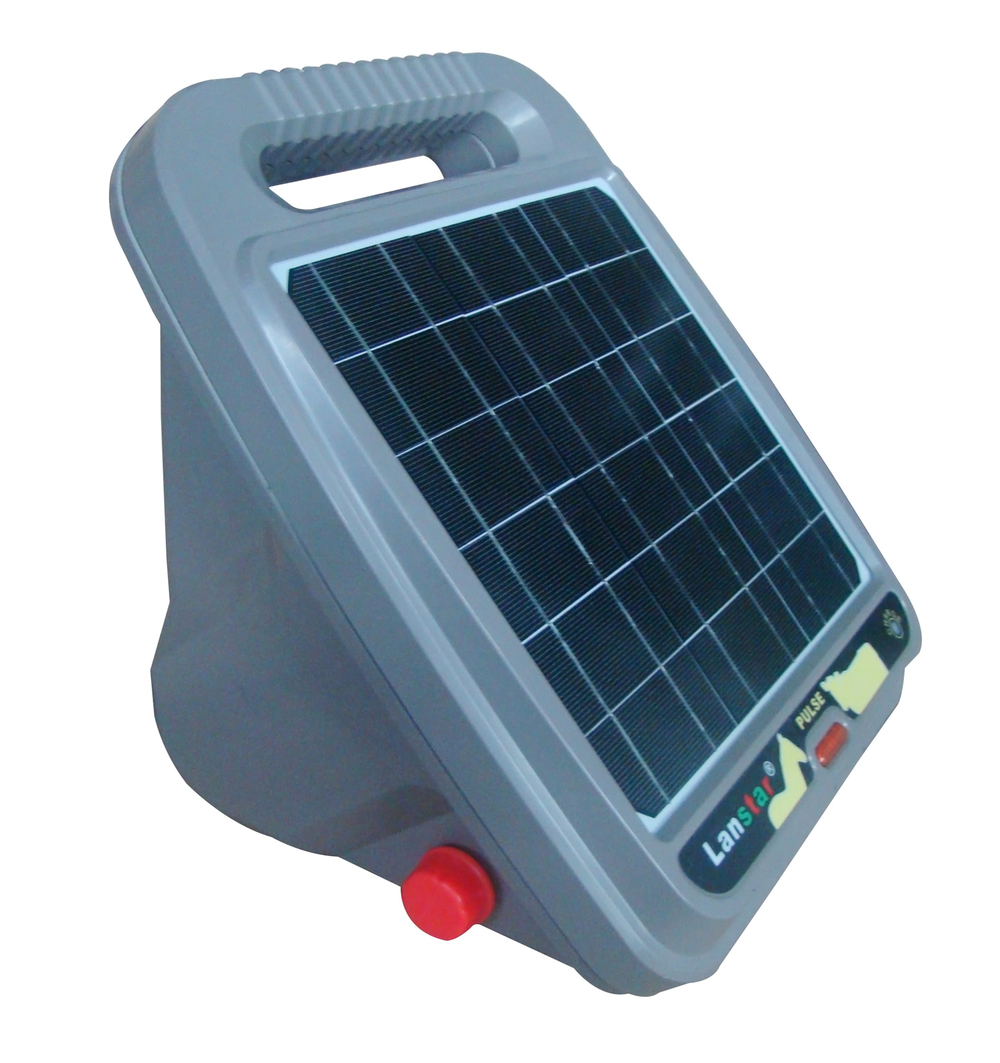 New Solar Panel All In One Electric Fence Energizer For