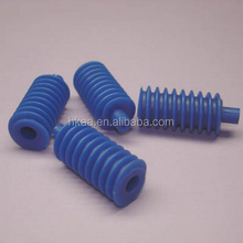 precise custom blue plastic worm gear