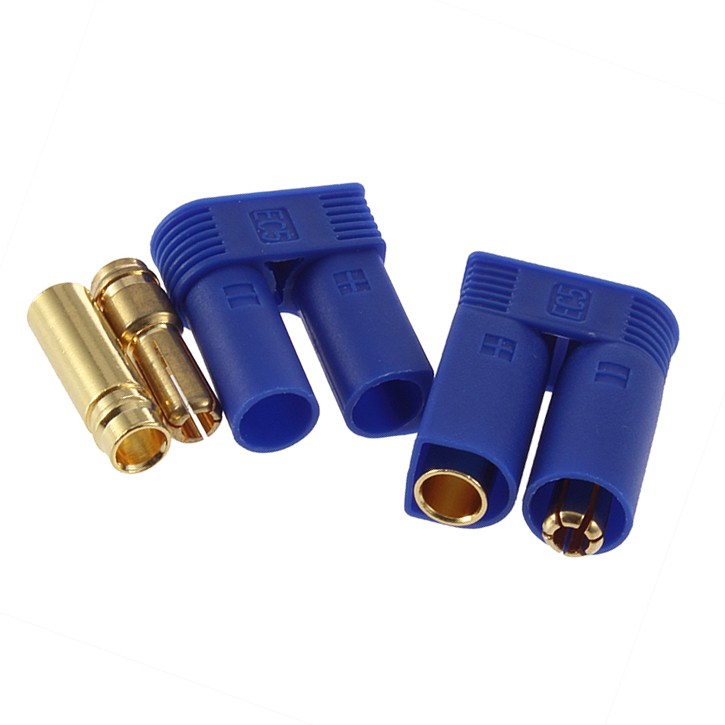 Connettori Per Batterie Tipo EC5 Femmina 5,5mm Gold Banana Plug Con Cavo