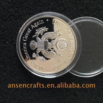 China Supplier Donald Trump Challenge Coin Best Quality - Buy Donald Trump  Challenge Coin,Clinton Coin,Buy Trump Coin Product on Alibaba com