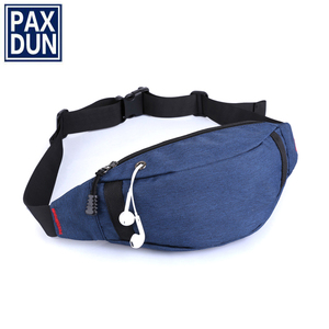 customize fashion men sports waterproof waist bag fanny pack ,newest multifunctional bum bag gym