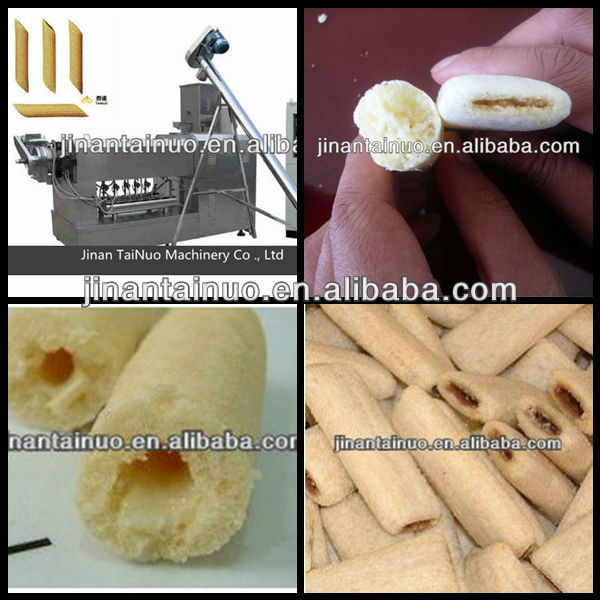 FULL automatic cereal bar core-filling snack maker(Skype:tainuojixie)