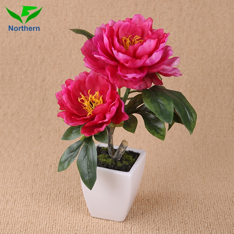 2017 new style Fake decorative artificial silk the peony flowers house decoration flower