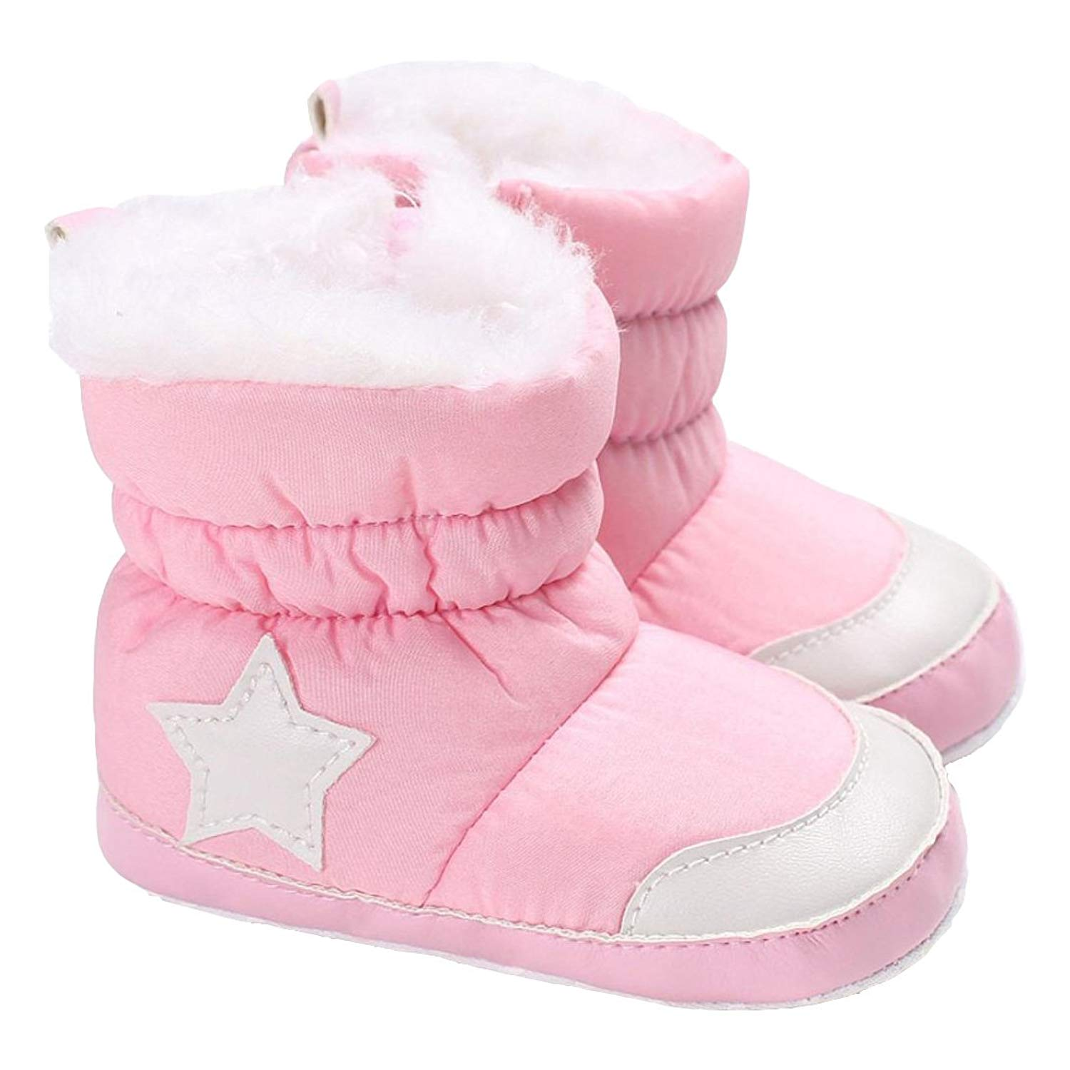8ab07bd20c49 Get Quotations · Morrivoe Baby Girls Boys Winter Warm Side Zipper Snow  Boots Toddler Martin Sneaker Casual Shoes Outdoor