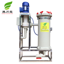 Shengchuanbao PP industrial chemical nickel plating filter with filter cartridge for matter filtering