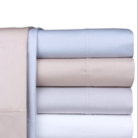 Cheap Soft White Pink 80GSM Microfiber Quality Bedding Sets Factory