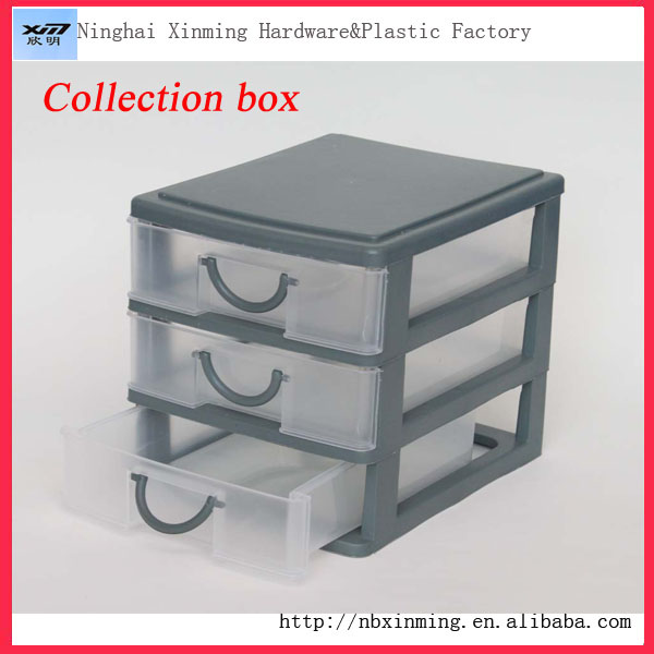 Wholesale Small Plastic Drawer Storage Box Makeup