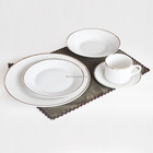 20pcs porcelain dinner set with gold decal, ceramic dinnerware set