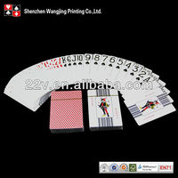 Magic Trick Casino Quality Printed Playing Cards Paper Custom