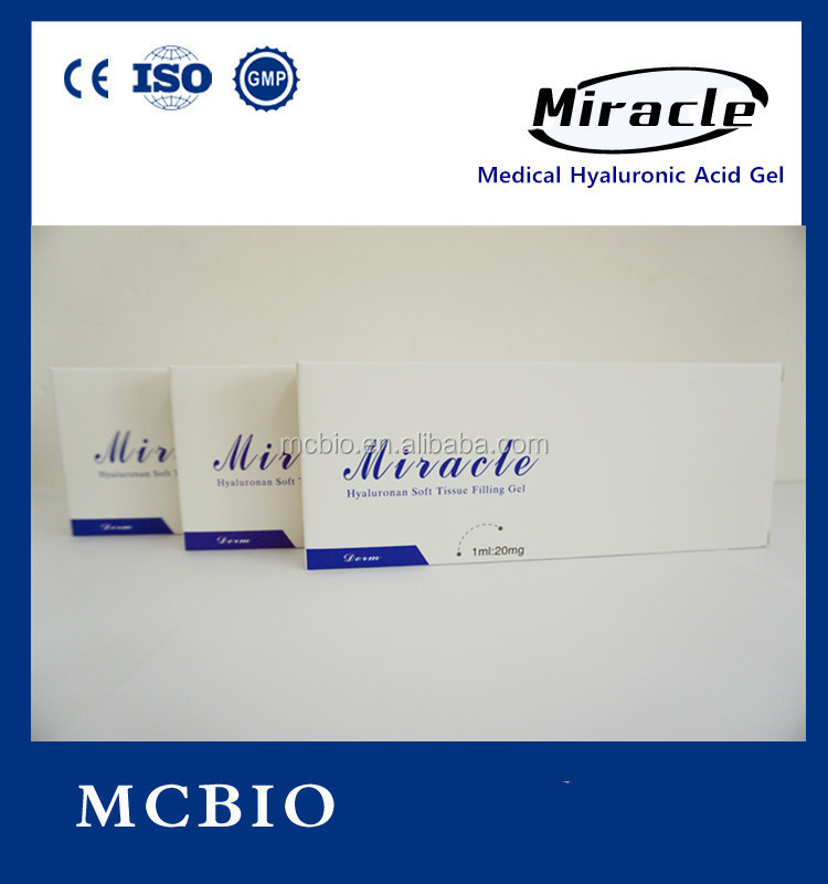 Miracle Hyaluronic acid injectable for buttocks