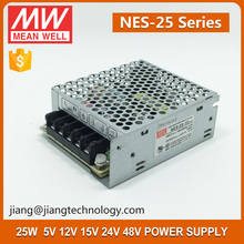 Meanwell 25W 12V 2.1A SMPS Single Output Switching Power Supply NES-25-12