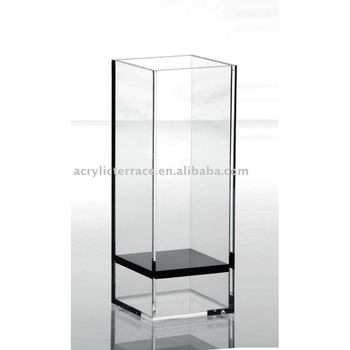 Square Clear Acrylic Vases Buy Clear Plastic Vaseantique Flower