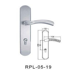 Stainless Steel Sliding Door Handle Lock /Security Lock Handle