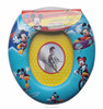 PVC printing cartoon designs baby toilet seat for children