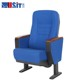 USIT Metal Folding Commercial Luxury Blue Fabric Theater Seat Theater Chair