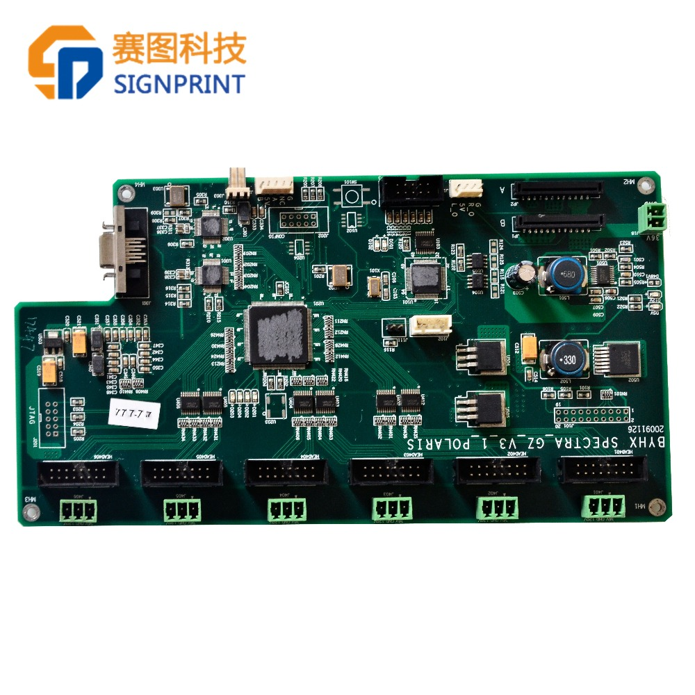 Print head control board for Gongzheng GZ3204AU polaris solvent inkjet printer