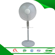 16'' solar powered outdoor stand fans 12v low watt dc cooling fan price