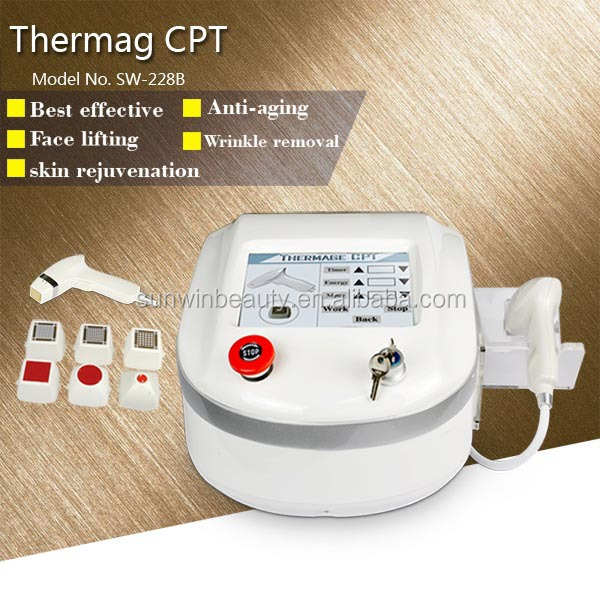 New Arrival Fractional RF micro needle Face Lift Home Use Thermagic Device