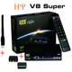 Original Freesat V8 Super DVB-S2 free to air Full HD satellite receiver with 2 usb port CA slot Freesat V8 Super