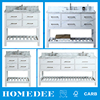 Homedee High Quality Waterproof Makeup Used Bathroom Vanity Cabinets
